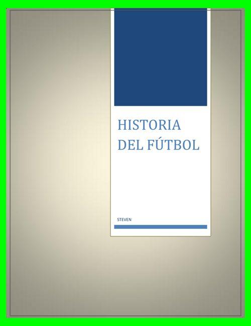 origen de futbol