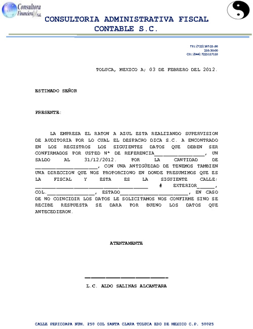1 EJERCICIO COMBINACION DE CORRESPONDECIA