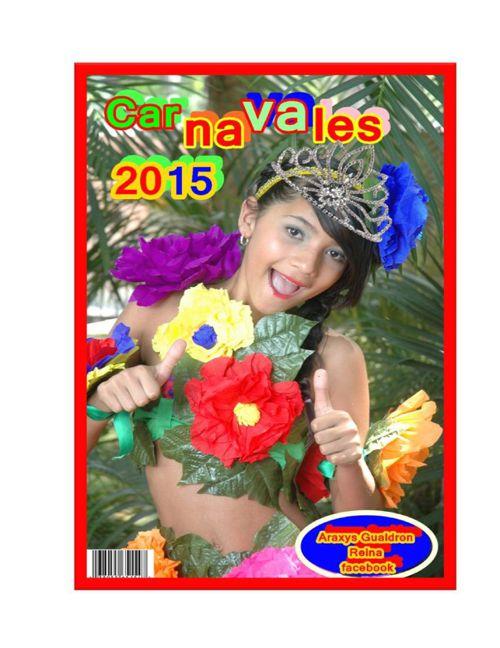 Carnavales 2015. Reina Facebook