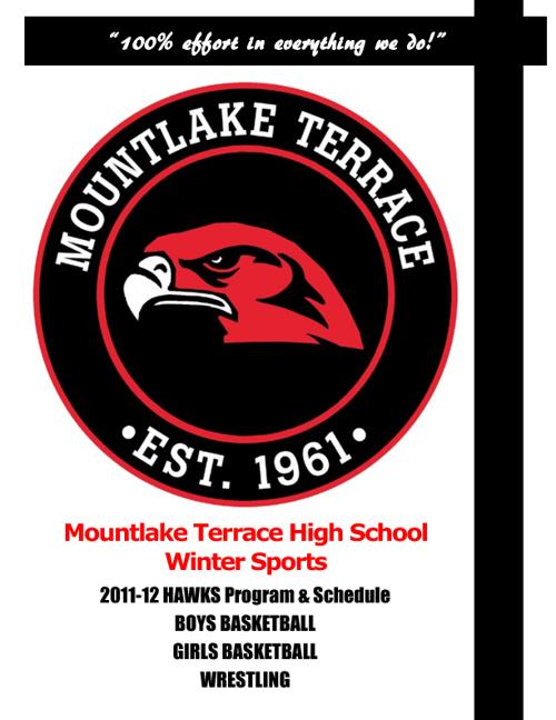 Mountlake Terrace HS Winter Sports Program
