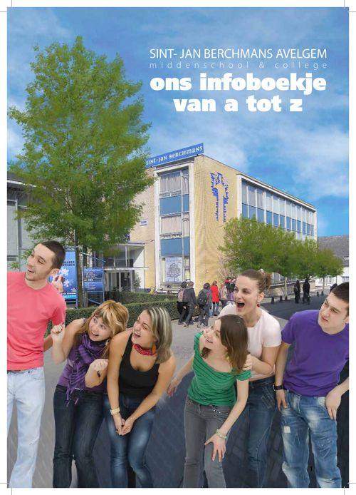 Infofolder Sint-Jan Berchmansmiddenschool 2015