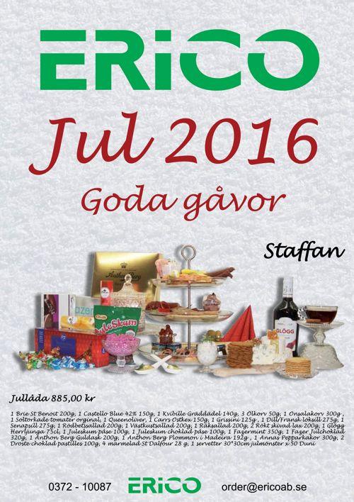 JUL 2016 Matlådor
