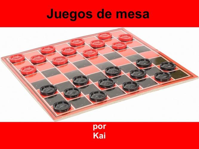 kai juegos de mesa