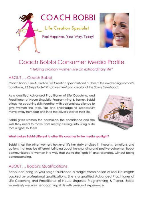 Coach Bobbi_Consumer Media Profile - August 2015