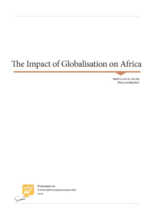 The Impact of Globalisation on Africa
