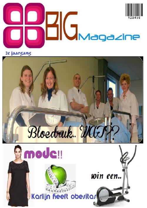 Big magazine!