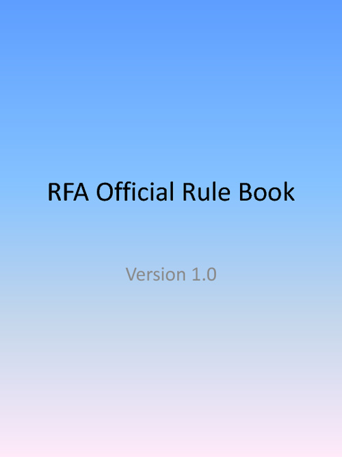 RFA Rule Book