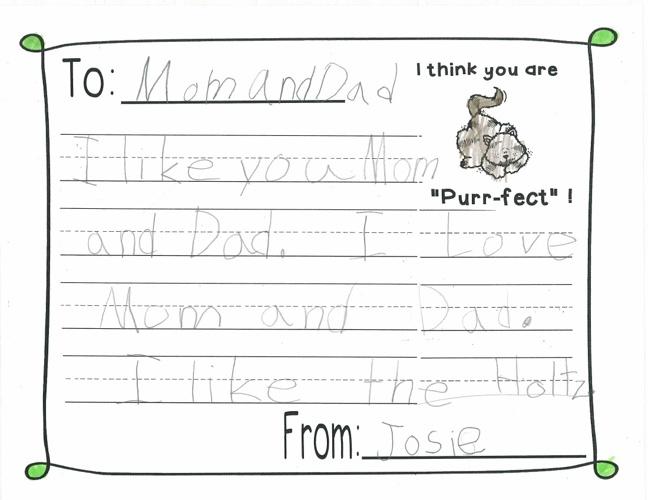 Parent Letter 3