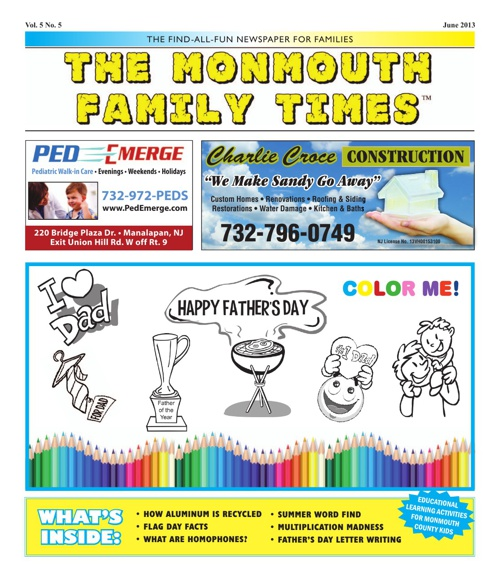 Monmouth Family Times June 2013