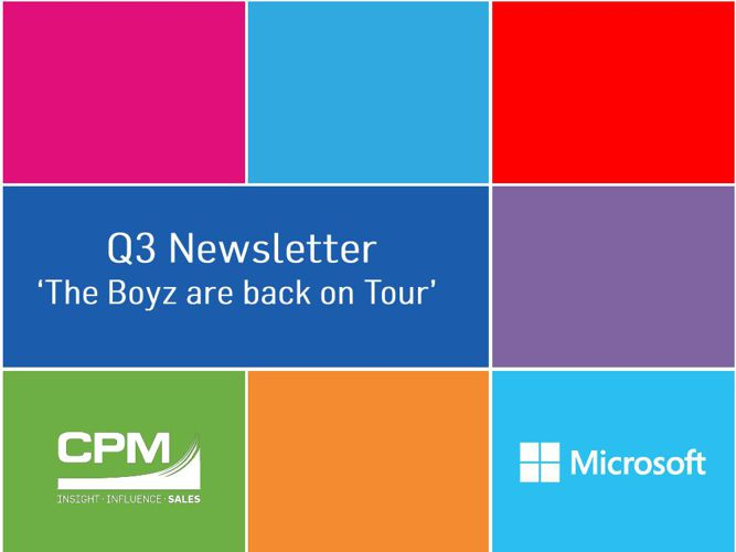 Microsoft Newsletter Q3