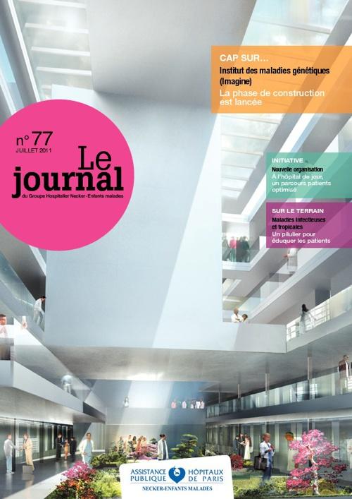Journal interne Hôpital Necker-Enfants malades