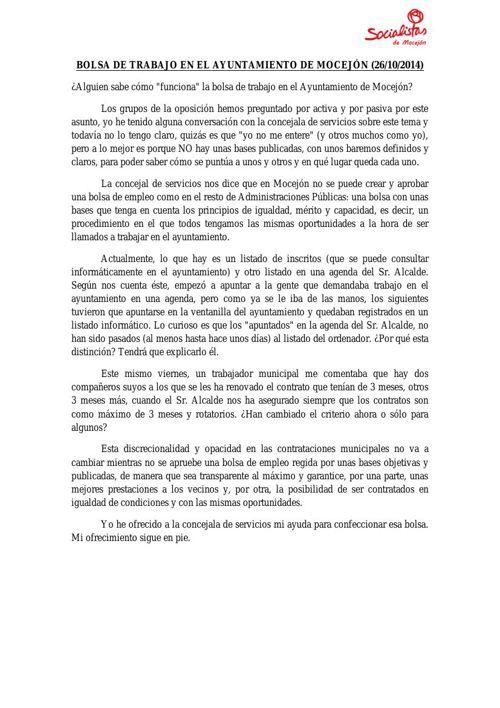 PROPUESTAS Y MEDIDAS PUBLICADAS EN LOS 7 ÚLTIMOS MESES