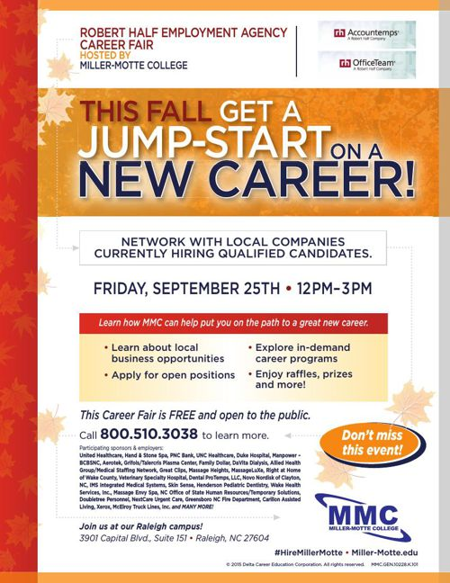 CAREER FAIR - Friday, September 25th from 12PM-3PM!