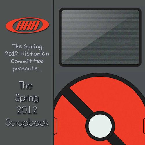 AAA Spring 2012 Scrapbook