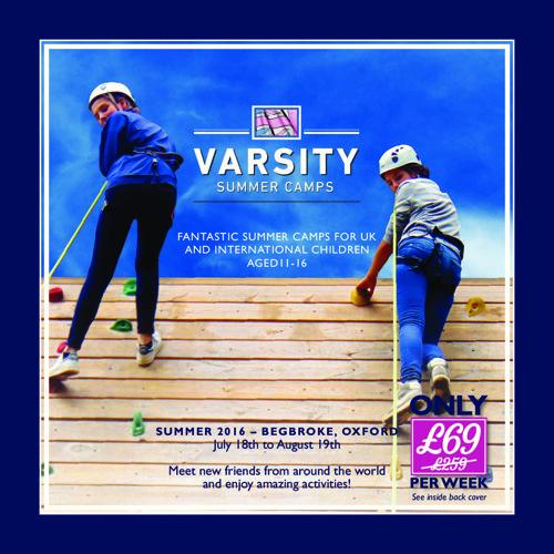 Varsity Summer Camps 2016
