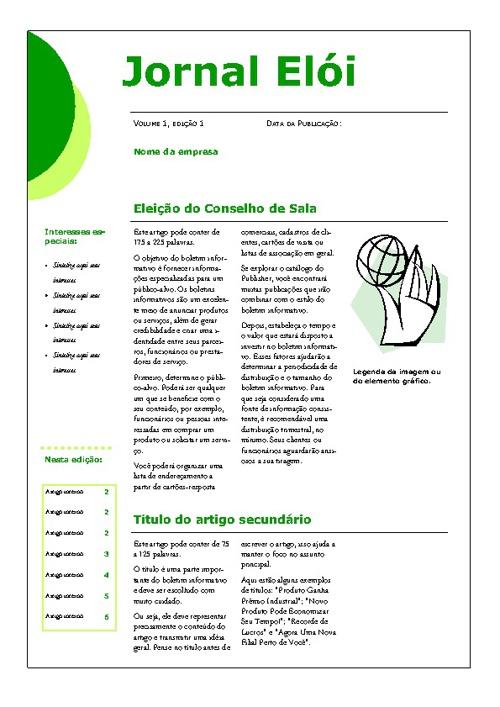 Teste do Jornal Eloi