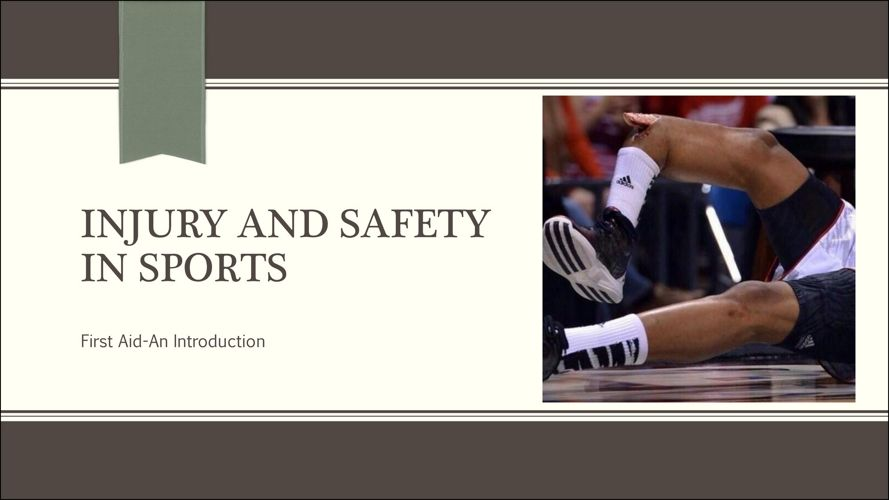 Injury and Safety in Sports