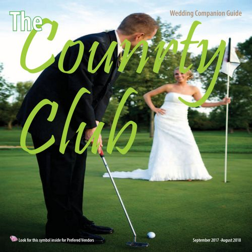 The Country Club Wedding Companion Booklet