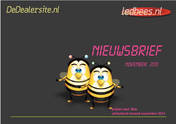 DeDealersite - Nieuwsbrief 2011-11
