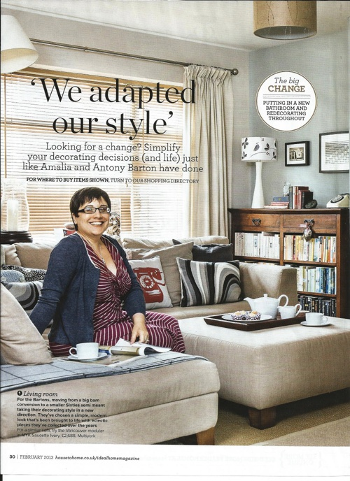 Ideal Home Mag - Our House - Feb 13