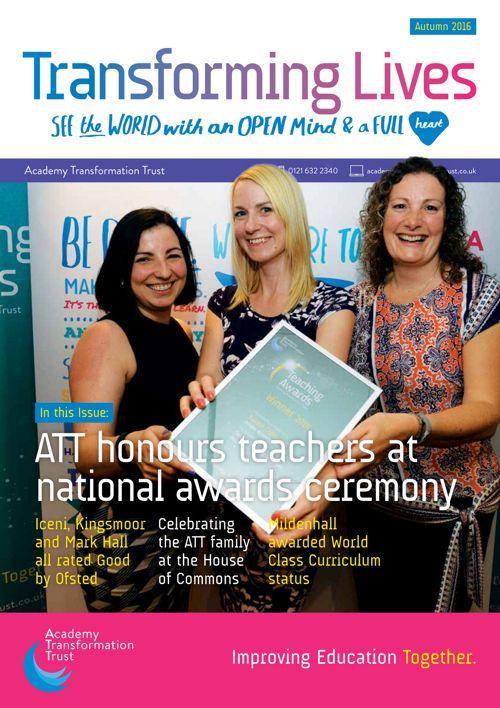 ATT Newsletter Autumn 2016