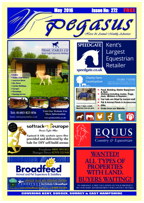 Pegasus Magazine May 2106 online issue