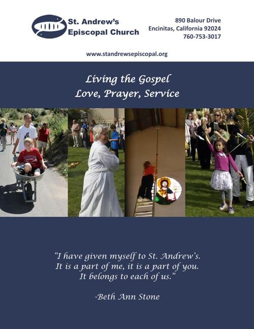 St. Andrew's Parish Profile 2013