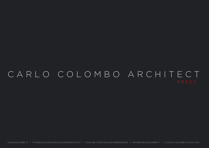 Carlo Colombo | press book