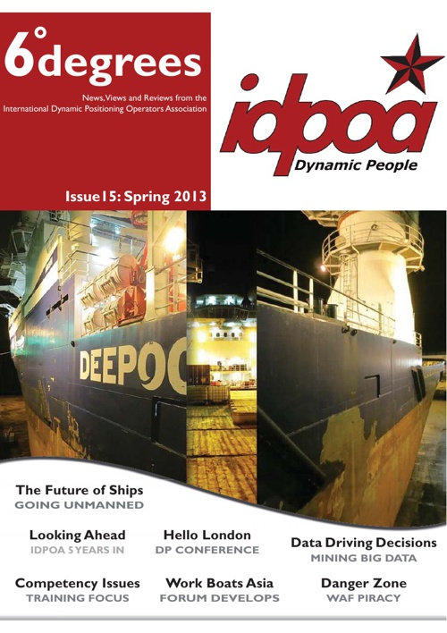 IDPOA 6degrees Issue 15 Spring 2013