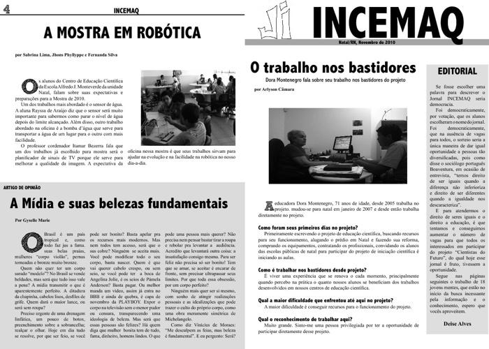 Jornal Incemaq (2010)