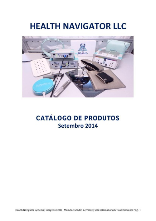 CATALOGO HEALTH NAVIGATOR LLC 2014