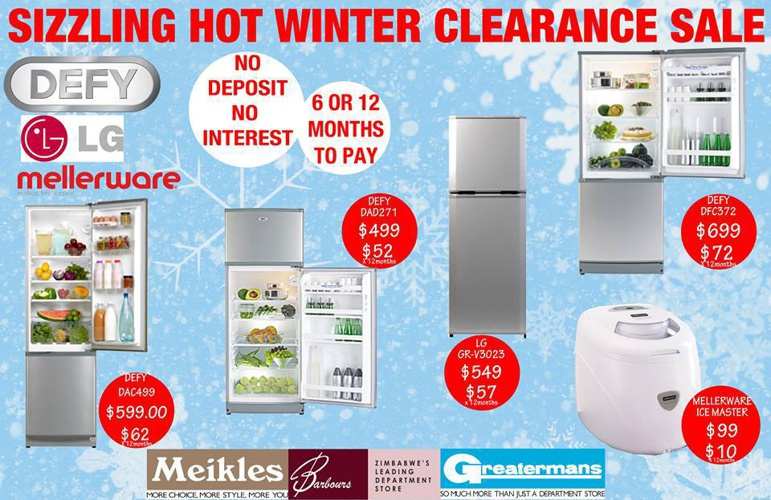 MEIKLES Winter Specials