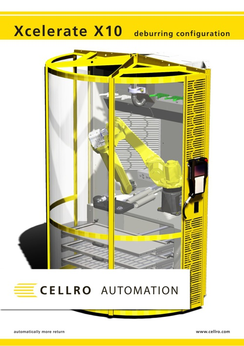 Cellro Xcelerate X10 Deburr configuration- UK
