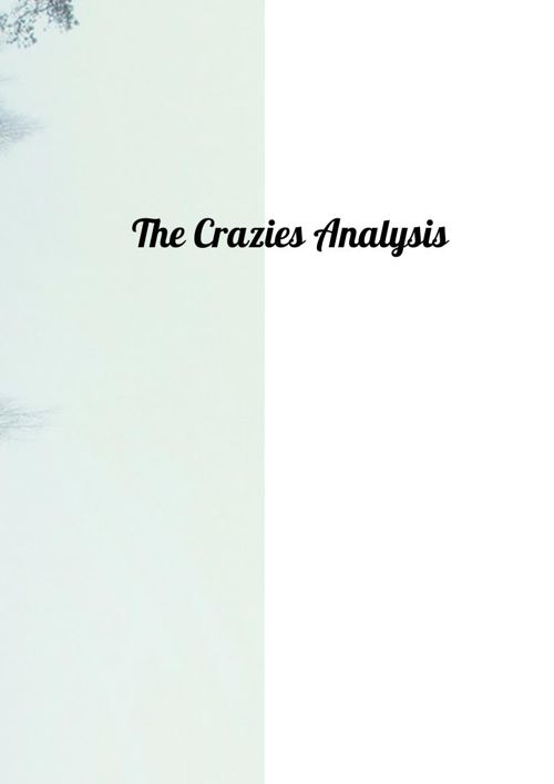 The Crazies Analysis