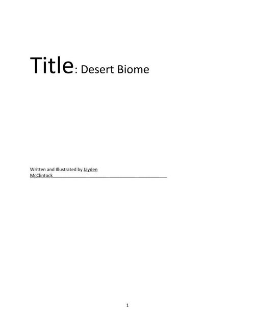 Jayden Desert
