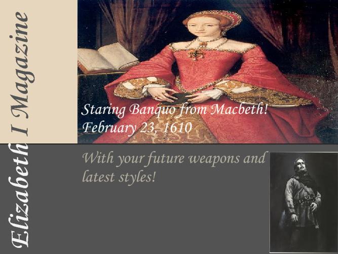 Elizabeth I Magazine