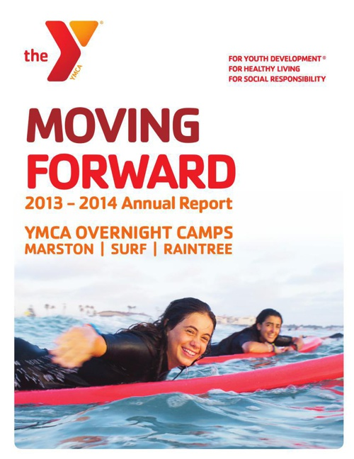 Annual Report 2013-14  |  YMCA Overnight Camps
