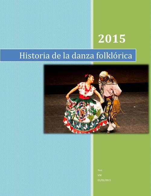Historia de la danza folklórica