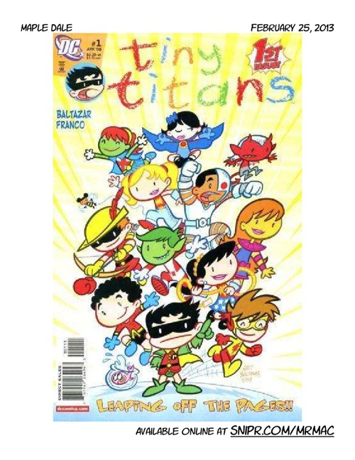 MD comic book '12-'13