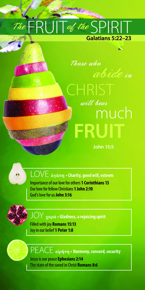 Bookmark-0043 Fruit of the Spirit