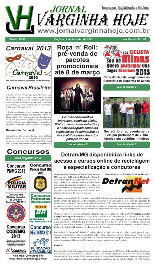 Jornal Varginha Hoje - 43