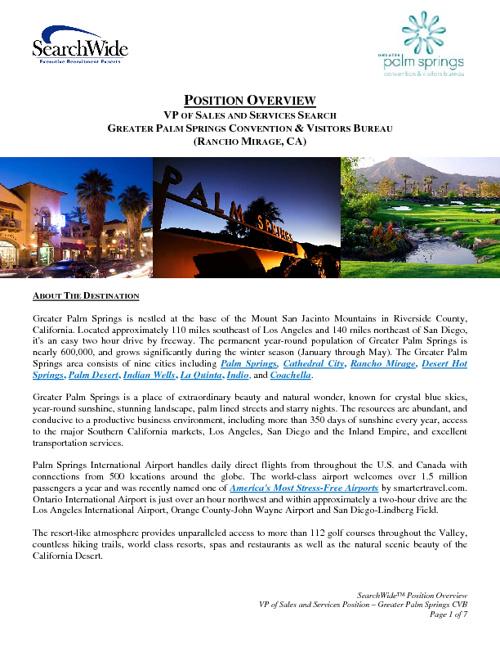 Palm Springs VP