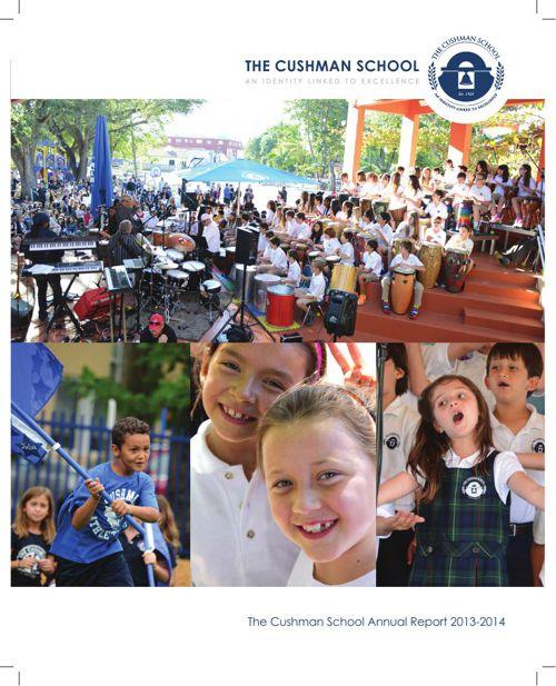 2013-2014 Cushman School Annual Report