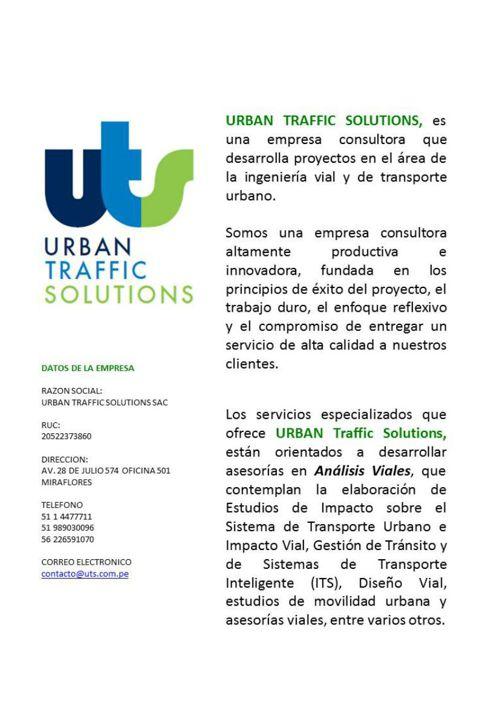 Urban Traffic Solutions