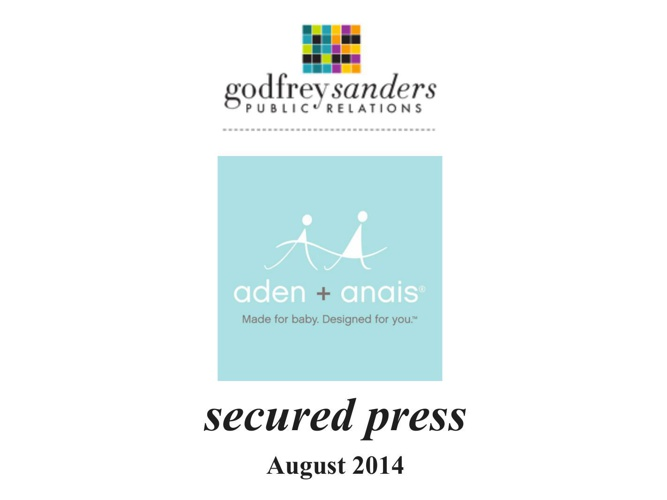 Secured press aden + anais August 2014