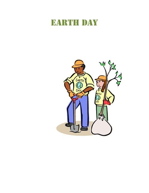 Olivia Castillo's Earth Day project
