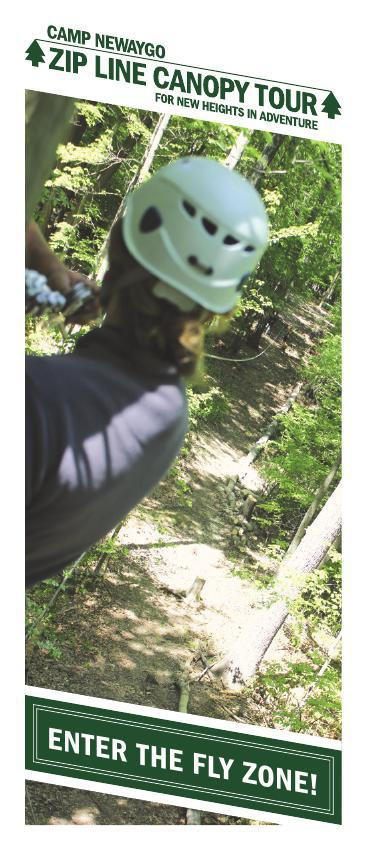 Camp Newaygo Canopy Zip Line Tour