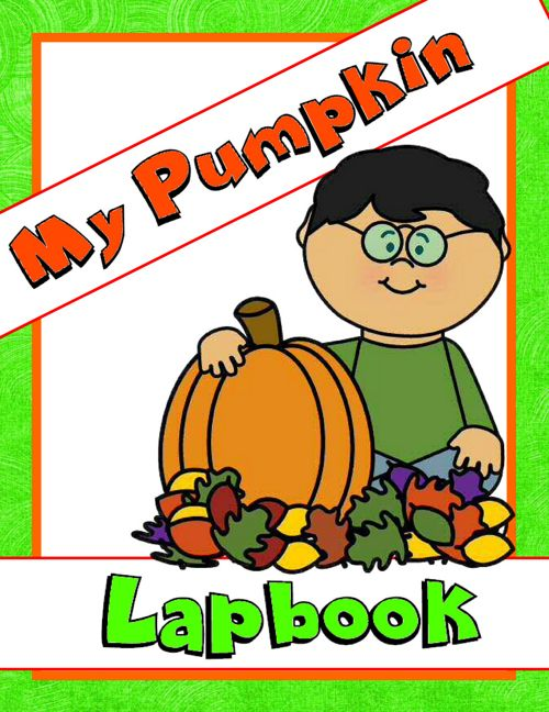 My Pumpkin Lapbook