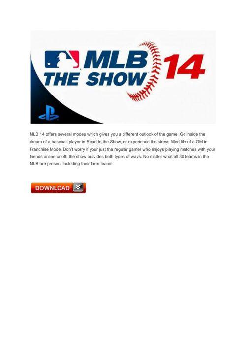 13 MLB 14 The Show – PlayStationVita