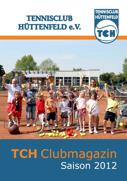 TC Hüttenfeld Clubmagazin 2012